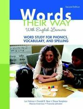 Words Their Way with English Learners: Word Study for Phonics, Vocabulary, and