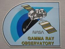 AUTOCOLLANT STICKER AUFKLEBER NASA GAMMA RAY OBSERVATORY ESPACE SPACE