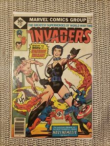 🔥The Invaders #17 (1977) - Nazi Nemesis - Captain America- Namor