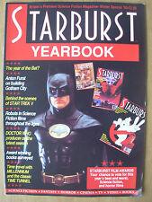 STARBURST MAGAZINE YEARBOOK 1990 BATMAN - DOCTOR WHO - STAR TREK - TIME TUNNEL