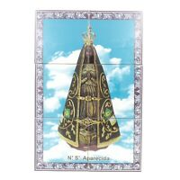 Our Lady of Aparecida Portuguese Ceramic Tile Art Wall Panel Mural Decor