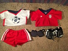 Build a Bear Clothes Soccer Uniform with pads and cleats