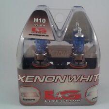 PAIR LG LITEGLOW Xenon White H10SW Super White H10 12V 42W Halogen Light Bulbs