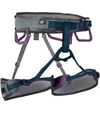 Mammut Ophir 3 Slide Kletter-Gurt Hüftgurt Frauen Klettersteig Ausrüstung Grau