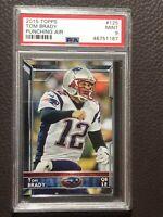 2015 Topps Tom Brady SSP PSA 9 Rare Card Patriots Buccaneers