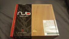 "NUB WOOD CIGAR BOX MADURO 460 BRAND 6 1/4"" X 4 3/4"" X 4""  Sliding Top"