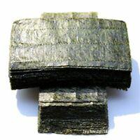 Nori Seaweed AAA Quality Dark Green Sushi 100pcs Half Cut Organic Roasted