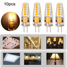 10PCS G4 LED COB Light Bulbs 6W AC DC 12V Replace Halogen Capsule Blub Lamp