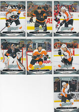 19/20 UD MVP Philadelphia Flyers Team Set with RC - Couturier Myers RC +