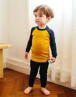 "Vaenait Baby Toddler Kids Clothes Long  Pajama Set ""Modal Raglang M&B"" 18M-12Y"