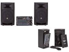 Proel Freepass 8 usb  Impianto Audio Portatile 500W usb mp3