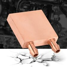Copper Computer Radiator Water Cooling Cooler for PC CPU Heatsink 40 * 40 * 10mm