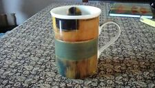 Abstract Art by Giovanni Fine Porcelain Mug by Pimpernel