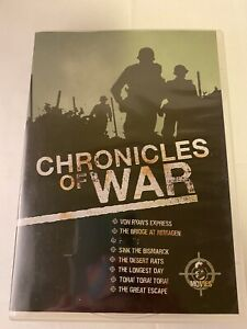 Chronicles Of War DVD Box Set Pal R4 8 Classic Movies Awesome Watching 1 Missing