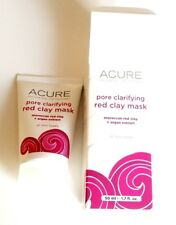 Acure Pore Clarifying Red Clay Mask 1.7 fl oz Moroccan Red Clay Argan Extract