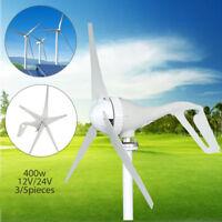 400W 12V / 24V Generador de Viento Turbina Aerogenerador Wind Turbine Generator