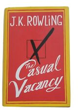 The Casual Vacancy by J. K. Rowling Hardback 2012 with Dustcovers 2 Books