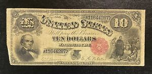 1880 $10 Legal Tender Note