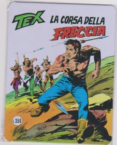 Tex Copertine da Collezione -La corsa della freccia- Targa in Metallo