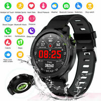 Waterproof Sports Smart Watch ECG PPG Heart Rate Blood Pressure Monitor Bracelet