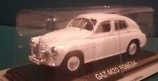 New model - GAZ M-20 Pobeda Saloon - IXO IST 1:43 White - Russian Soviet Volga