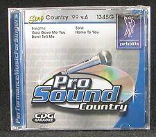 Priddis Pro Sound Sing Country '99 v.6 1345G Karaoke C.D. God Gave Me You