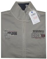 MAGLIA FELPA UOMO M L XL XXL 3XL giacca zip beige delavè cotone Be Board tinta