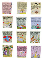 Greetings Card birthday funny Humour Friend Pets Wedding Humourous smiley Cards