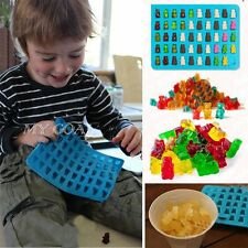 50 Cavity Silicone Gummy Bear Chocolate Mold bonbons Jelly Maker Moules bleu