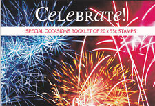 2008 Special Occasions (Celebrate) 20 x 55c (SP164) - Prestige Booklet