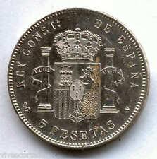 Alfonso XIII 5 Pesetas 1898 SGV Tupe @ BELLISIMA @@