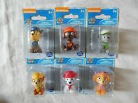 Paw Patrol Lot of 6 Figurines New Chase Dalmatian Marshall Skye Rubble Figures