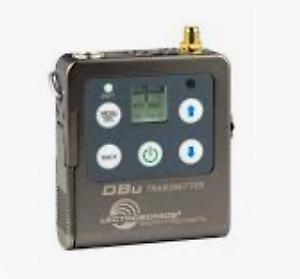 Lectrosonics DBu transmitter