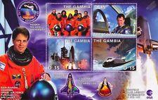ILAN RAMON (Israel): NASA STS-107 Space Shuttle COLUMBIA Astronaut Stamp Sheet