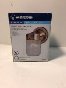 Westinghouse #66839 AB Jelly Jar Fixture,No 66839,  Westinghouse Lighting Corp