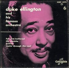 DUKE ELLINGTON And his famous orchestra 6 RARE 45T EP JAZZ COLUMBIA ESDF 1070