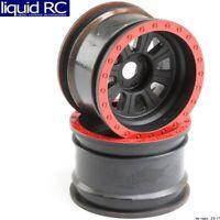 Losi 45028 Wheel Black 2 : Super Rock Rey