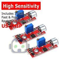 3X Microphone Sensor High Sensitivity Sound Detection Module for Arduino PIC AVR