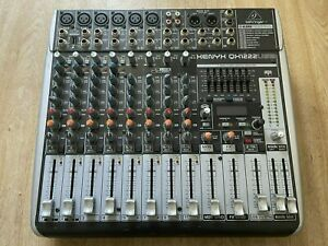 Behringer XENYX X1222USB Mixer & USB Audio Interface. Great condition, £170 new.