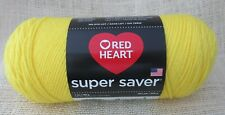 Red Heart Super Saver Yarn 100% Acrylic 7 oz In Bright Yellow