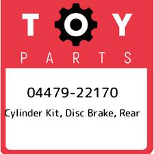 04479-22170 Toyota Cylinder kit, disc brake, rear 0447922170, New Genuine OEM Pa