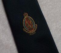 Vintage REGIMENTAL Tie Mens Necktie Club Association CROWN CRESTED