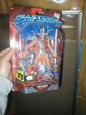 SAMURAI HE-MAN MASTERS OF THE UNIVERSE FIGURE, NEVER OPENED, FROM MATTEL.