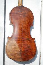 Vintage 4/4 Stradivarius Copy, Luthier Repair/Restoration Project, Violin #1330