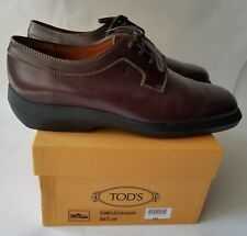 TOD'S Anilux Men's Brown Leather Shoes in US Size 11 (UK 10)
