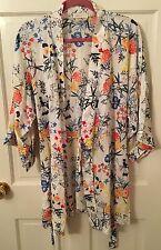 Nordstrom Lingerie pajama set floral print gently used