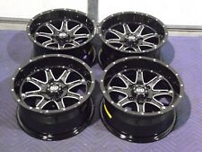 "YAMAHA GRIZZLY 550  14"" STI HD4 ALUMINUM ATV WHEELS COMPLETE ( SET 4 ) IRS1CA"