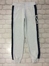 EMPORIO ARMANI EA7 JUNIOR 10A 10 YEARS GREY VISIBILITY LOGO JOGGERS ACTIVEWEAR