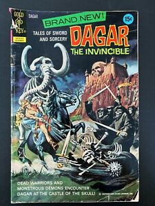 DAGAR THE INVINCIBLE #1 GOLD KEY COMICS 1972 VG/FN