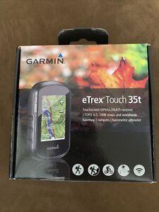 Garmin eTrex Touch 35t (t = Topographic) Touchscreen GPS PART NO-010-01325-13